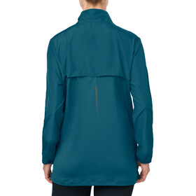asics Jacket Women Blue Steel